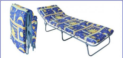 Бизнес-идея: Производство раскладушек (раскладных кроватей).