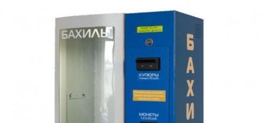 Бизнес-план: Автомат по продаже бахил