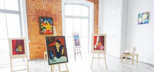 Бизнес идея : Частная студия живописи